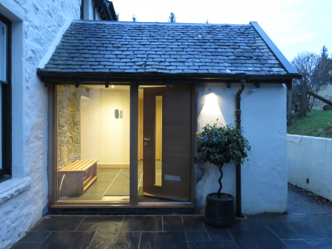'Making an Entrance' at Achnasmeorach House